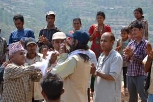 Erdbebenhilfe Nepal