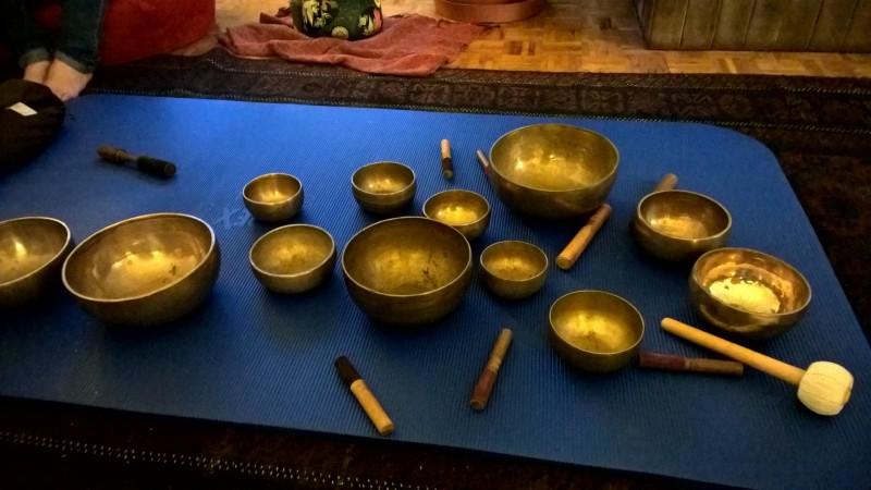 Nepalesische Klangschalen
