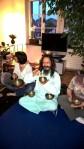 Ram mit Klangschalen